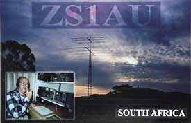 ZS1AU South Africa 20m