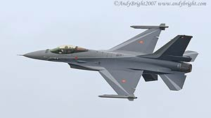 Belgian Air Component F-16A MLU Fighting Falcon