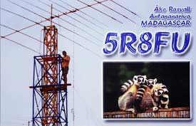Enter The African QSL Card Gallery